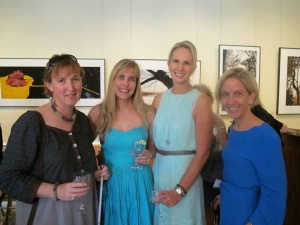 Harkness women: Rhiannon Tudor Edwards, Marie Bismark, Jane Burns, Emma Stanton, 2014